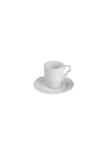 Kütahya Porselen Menuet Latte Seti 1 Renkli
